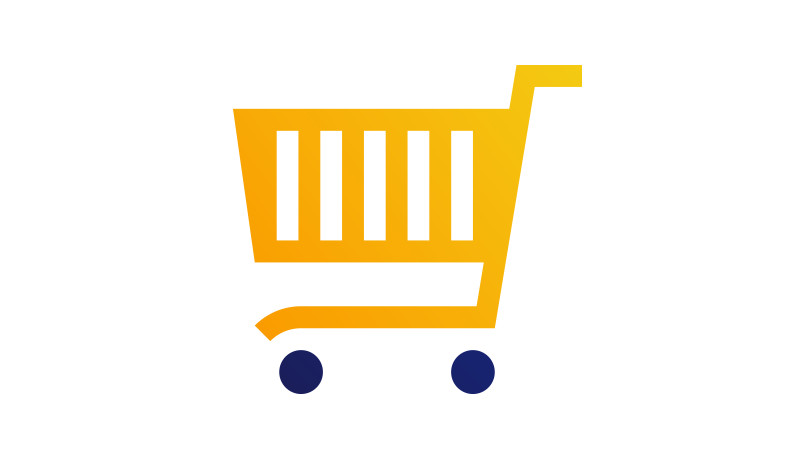 Illustration of a shopping cart.